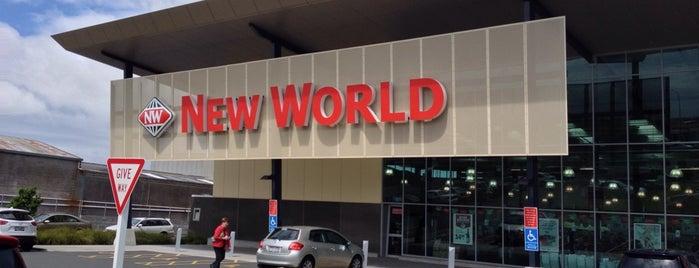 New World is one of สถานที่ที่ Jim ถูกใจ.