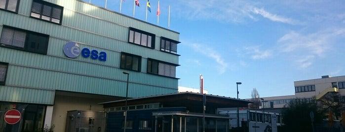 European Space Operations Centre (ESOC) is one of Andreas'ın Beğendiği Mekanlar.