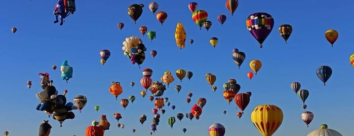 Balloon Fiesta Park is one of Historic Route 66.