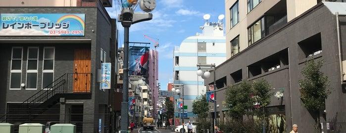 板橋宿不動通り商店街 is one of 神輿で訪れた場所-1.