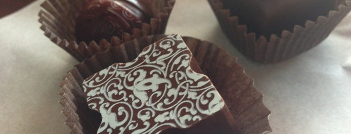 Escazu Artisan Chocolates is one of Raleigh Favorites.