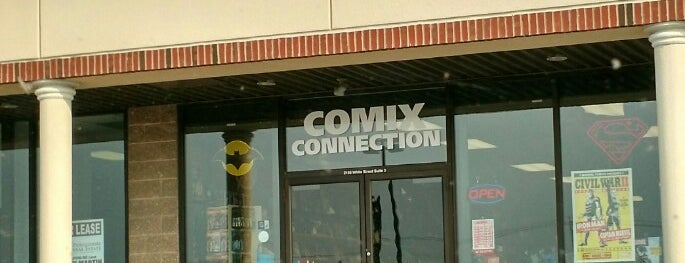 Comix Connection is one of West Manchester Mall.