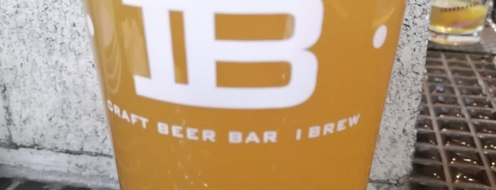 Craft Beer Bar IBREW is one of Japan.