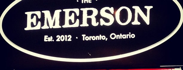 The Emerson is one of CAN Toronto Favourites.