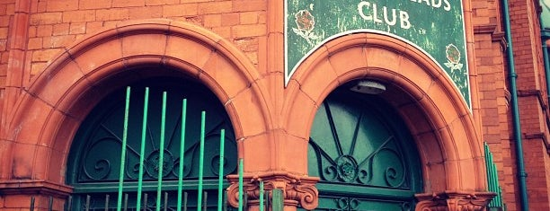 Salford Lads Club is one of 'Cos everybody hates a tourist.