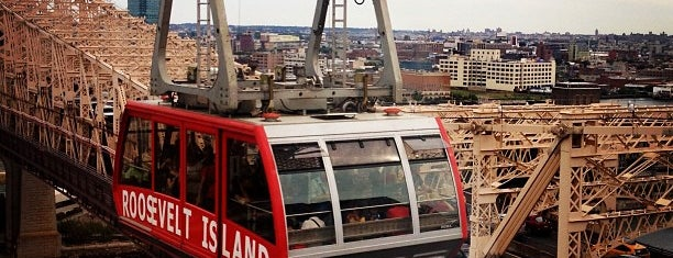 Roosevelt Island Tram (Manhattan Station) is one of Tempat yang Disimpan Beril.