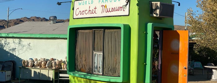 World Famous Crochet Museum is one of Joshua Tree New Years.