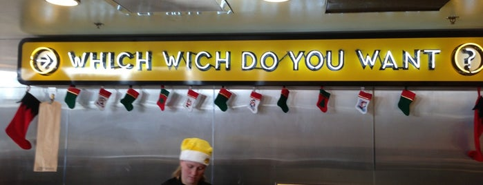 Which Wich? Superior Sandwiches is one of Tempat yang Disimpan Donovan.