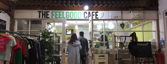 The Feel Good Cafe is one of Orte, die James gefallen.