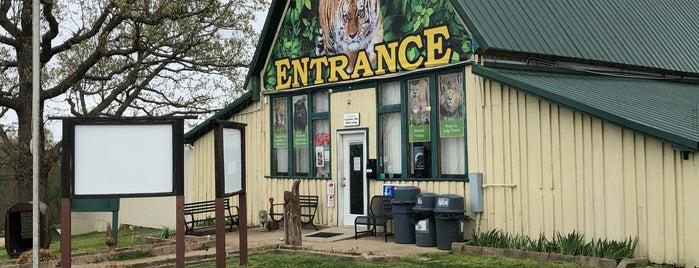 Turpentine Creek Wildlife Refuge is one of Arkansas.