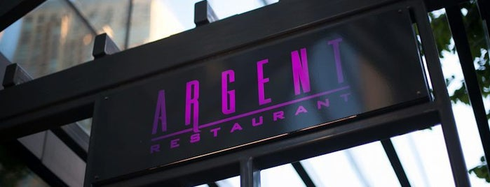 Argent Restaurant & Raw Bar is one of United Mileage Plus Dining Spots.