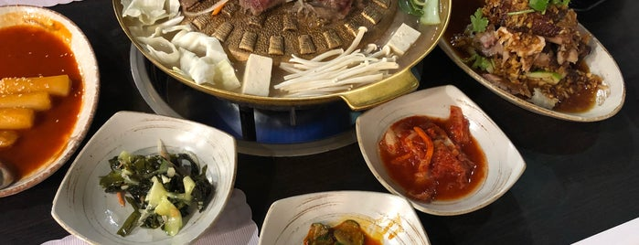韓川館 is one of Lieux sauvegardés par N..