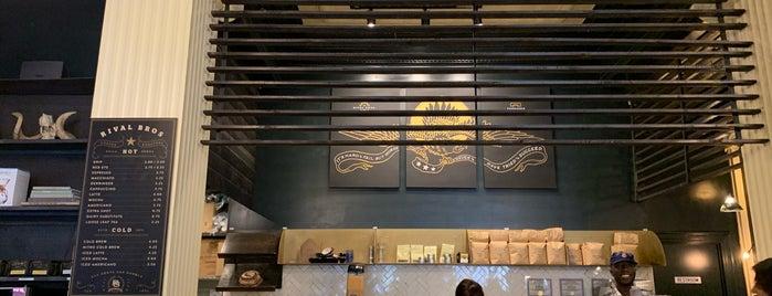 Rival Bros Coffee Bar is one of Locais salvos de Queen.