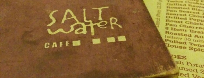 Salt Water Cafe is one of Женяさんのお気に入りスポット.