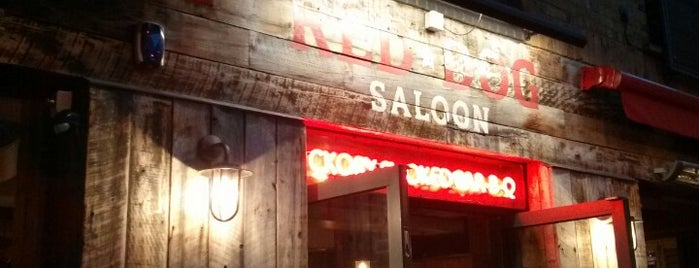Red Dog Saloon is one of OJM's guide to eating & drinking in London.