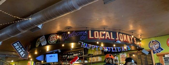 Local Jonny's is one of Locais salvos de Joyce.