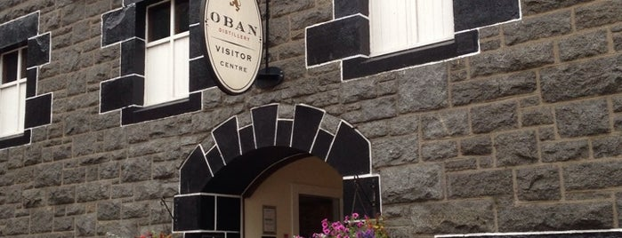 Oban Distillery & Visitors Centre is one of Scotland.