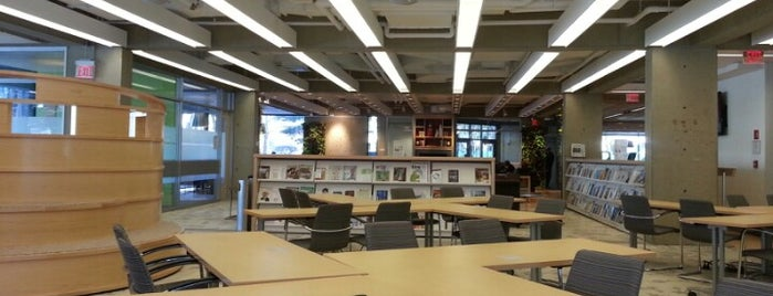 Gutman Library (HGSE) is one of Harvard: Places to Study.