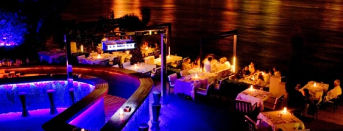 Lacivert Restaurant is one of night Istanbul.