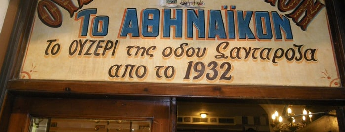 Αθηναϊκόν is one of Greek restaurants.