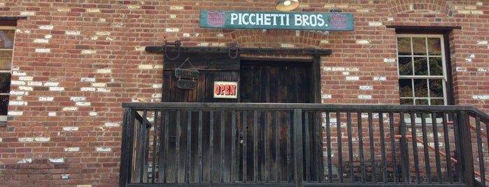 Picchetti Winery is one of San Jose.