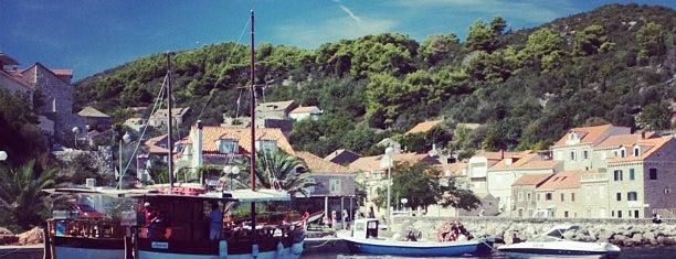 Šipan Island is one of Dubrovnik.