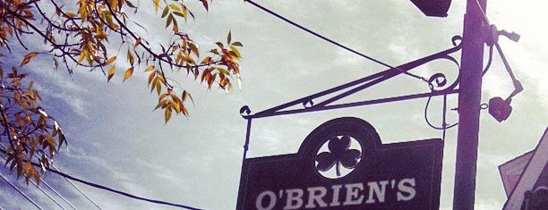 O'Brien's Pub is one of Newport favorites.