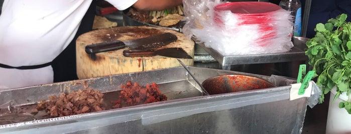 Los Tacos Del Güero is one of a probar.