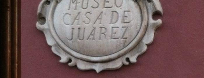 Museo Casa de Juárez is one of Lugares favoritos de Armando.