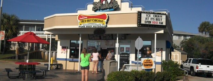 Shake's Frozen Custard is one of Destin.