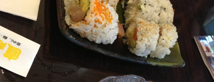 Nao Sushi is one of Locais curtidos por Simo.
