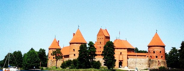 Trakai Castle is one of Baltic Road Trip.