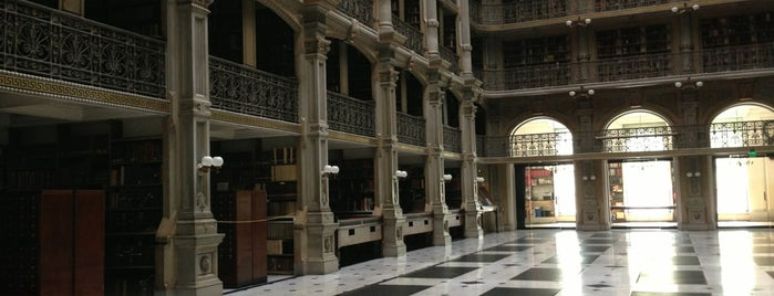 George Peabody Library is one of Ziggy goes to Baltimore.