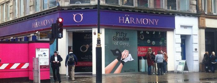 Harmony is one of لندن.