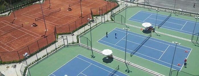 Optimum Tenis Akademisi is one of Bengü Deliktaş: сохраненные места.