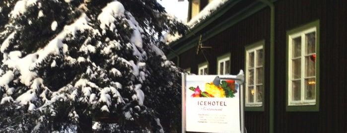Icehotel Restaurant is one of Bucket List.