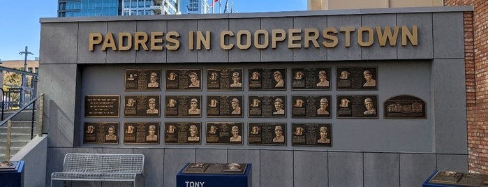 San Diego Padres Hall of Fame is one of San Diego.