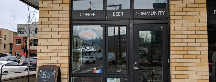 Cascadia Coffee Pub is one of Work.