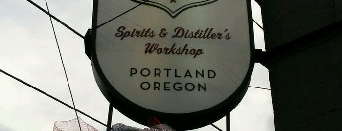 New Deal Distillery is one of Distillery Row - PDX.