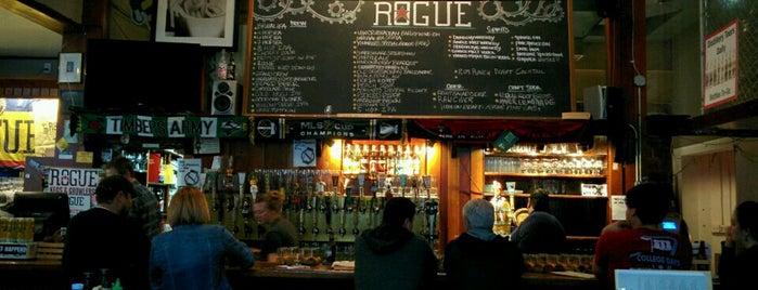 Rogue Ales Public House & Distillery is one of Oregon Distillery Trail.