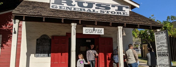 Rust General Store is one of San Diego.