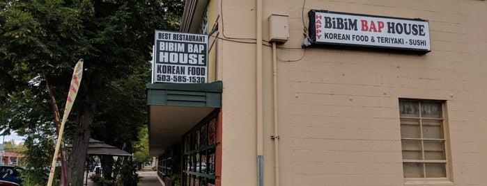Happy Bibimbap is one of สถานที่ที่ Heather ถูกใจ.