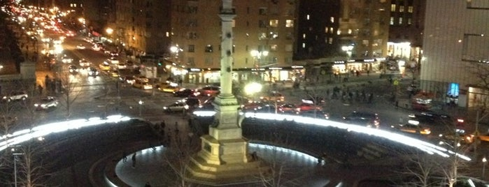 Columbus Circle is one of NYC Beat.