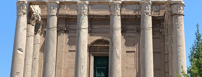 Tempel des Antoninus Pius und der Faustina is one of Roma 🇮🇹.