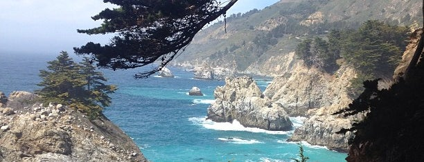 McWay Falls is one of Pacific One Highway '19 (US).