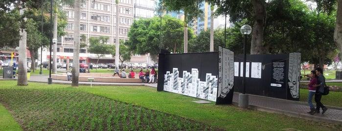 Parque 7 de Junio is one of Parques con WiFi.