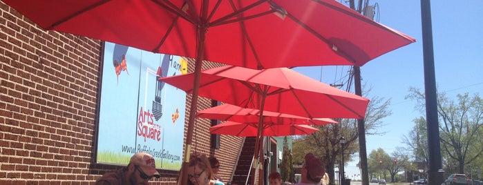 Pleasant City Wood Fired Grill is one of สถานที่ที่บันทึกไว้ของ Brooke.