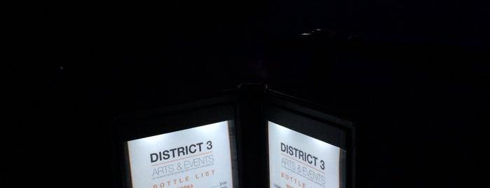 District 3 is one of Lugares favoritos de Melissa.
