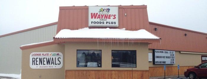 Waynes foods plus is one of Locais curtidos por Cody.