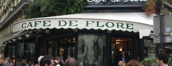 Café de Flore is one of My Paris.
